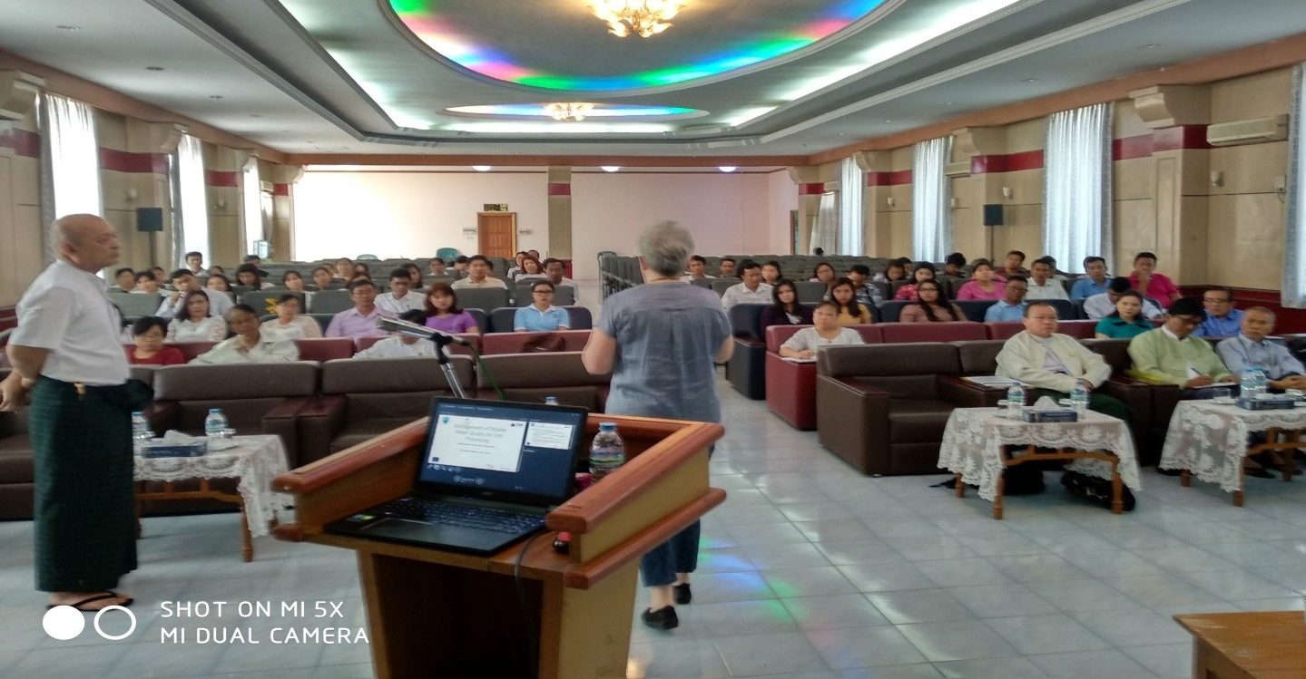 Workshop on Management of Potable Water Quality for Fish Processing at MFF