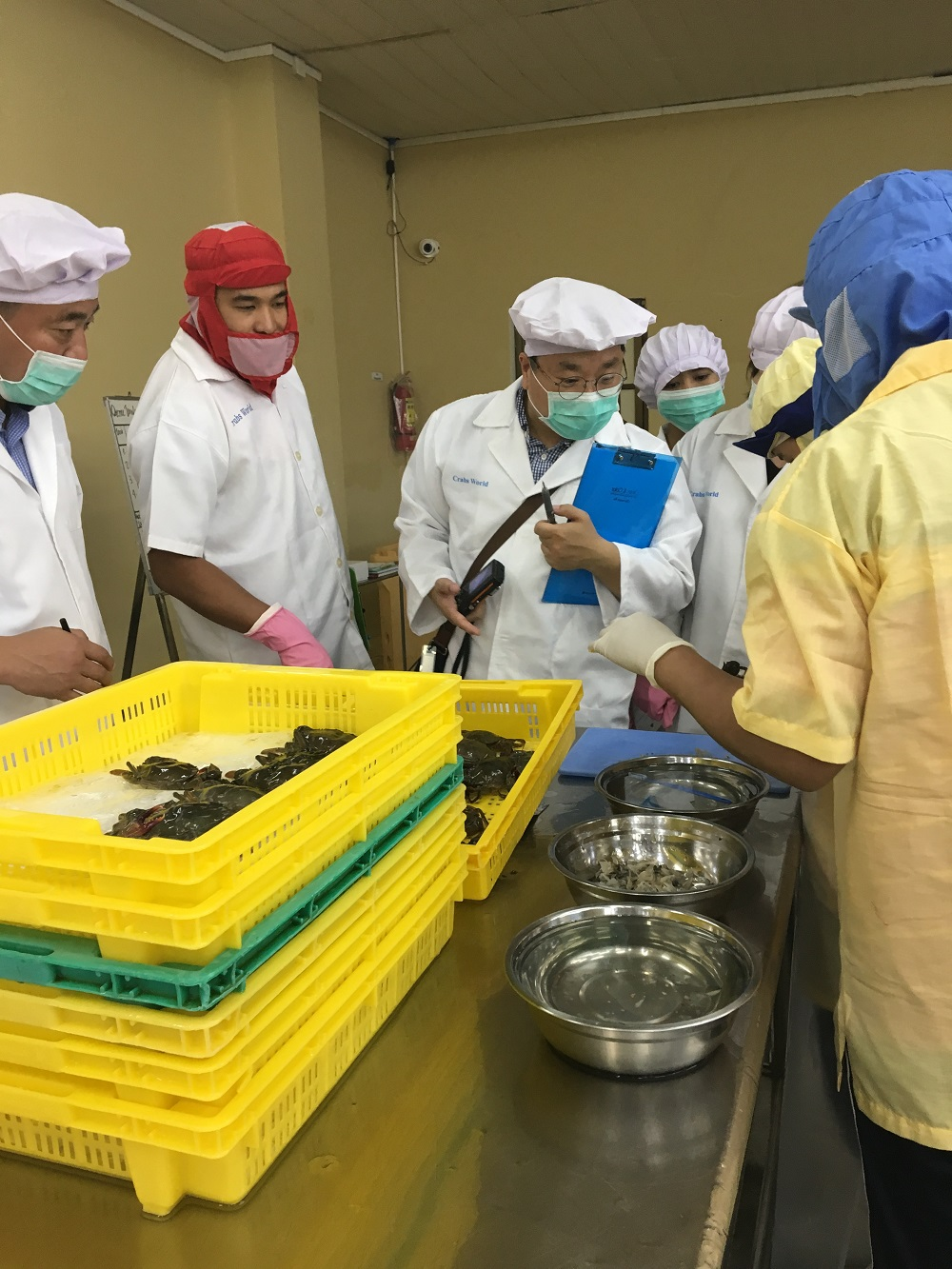 KOREA's MFDS Inspection of Myanmar Fishery Processing Manufacturers